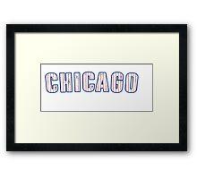 MLB City - Chicago (Cubs) Framed Print