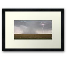 Colorado Lightning Storm Framed Print