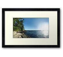 Rugged Coast (panorama) Framed Print