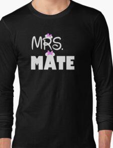 Mrs Mate Long Sleeve T-Shirt