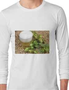 Beer, hops and malt Long Sleeve T-Shirt