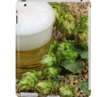 Beer, hops and malt iPad Case/Skin