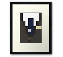 Minecraft- Suit Skin, Great for Cosplay! Framed Print