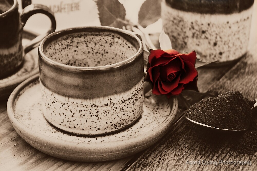 After Dinner Coffee 2 by Astrid Ewing Photography