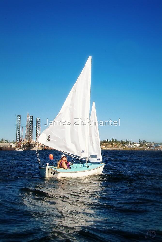 Lynn Sailing #2 by James Zickmantel