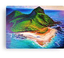 Mokulua Island - Lanikai Canvas Print