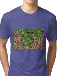 Hops and Malt Tri-blend T-Shirt