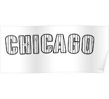 MLB City - Chicago (White Sox) Poster