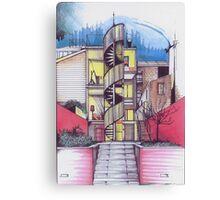CityStrife Canvas Print