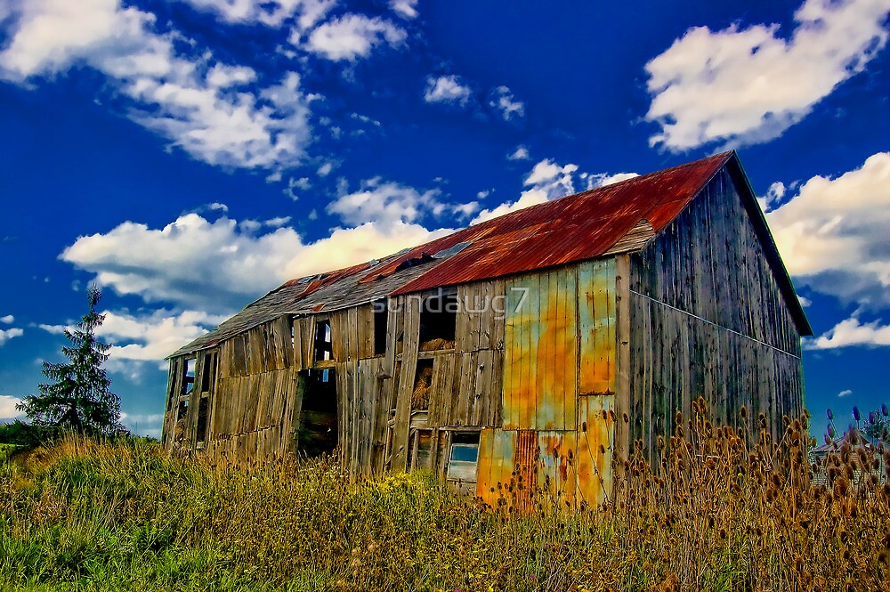 Weathered Barn_1 by sundawg7