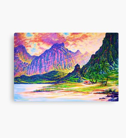 Around the Bend - in Gods Presence Canvas Print