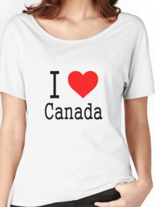 I Heart Canada Women's Relaxed Fit T-Shirt