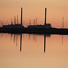 SUNSET AT THE POWER STATION by another-paul