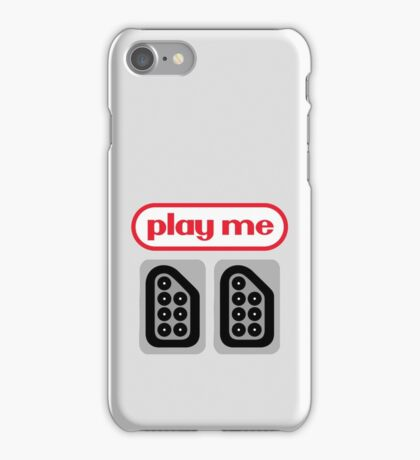 play me ports iPhone Case/Skin