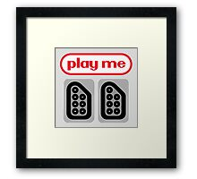play me ports Framed Print