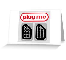 play me ports Greeting Card