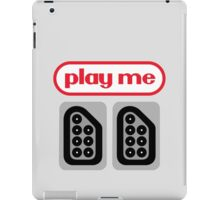play me ports iPad Case/Skin