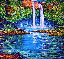 River of Life (Wailua Falls,Kauai) by jyruff