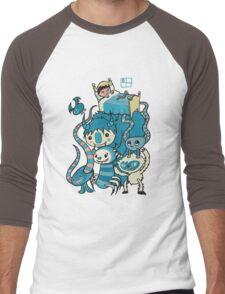The Beasties Under My Bed Men's Baseball ¾ T-Shirt