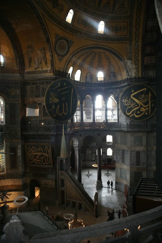 Hagia Sophia, Turkey by Kyle Jerichow