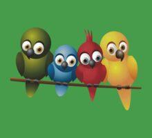 Cute overload - Birds Kids Clothes