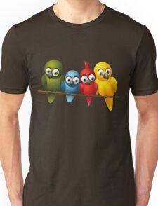Cute overload - Birds Unisex T-Shirt