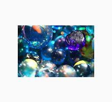 Shinning blue glass beads Unisex T-Shirt