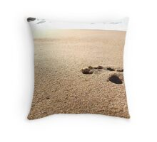 The last step Throw Pillow