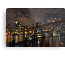 Vancouver at night - Vancouver, BC Metal Print