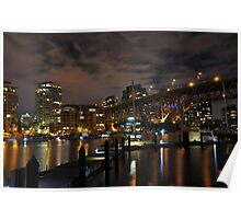 Vancouver at night - Vancouver, BC Poster