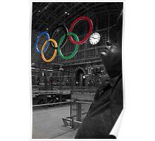 John Betjeman & The Olymics Poster