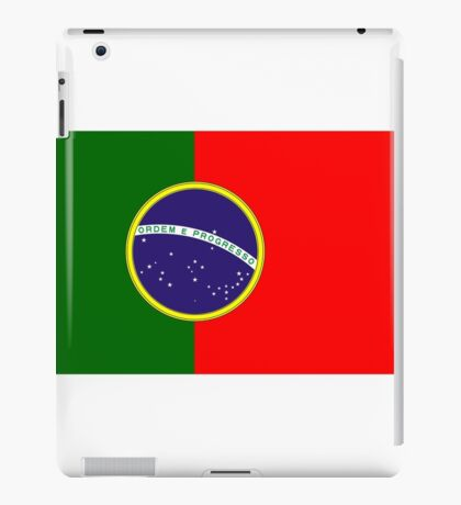 Brazil - Portugal iPad Case/Skin