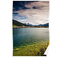 A lake in Switzerland Poster