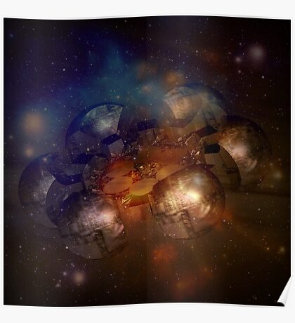 Incendia Space Station Poster
