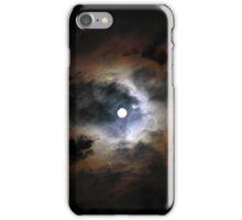 Moon On A Dark Sky  iPhone Case/Skin