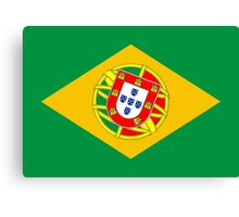 Portugal - Brazil Canvas Print