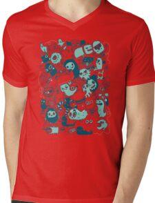 Monsterous Mens V-Neck T-Shirt
