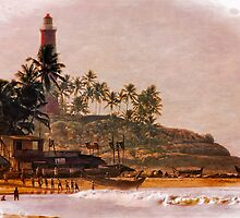 Kovalam Beach, Kerela, India by Normf