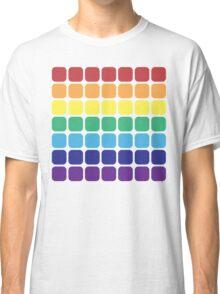 Rainbow Square - Light Background Classic T-Shirt