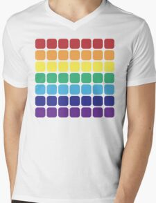Rainbow Square - Light Background T-Shirt