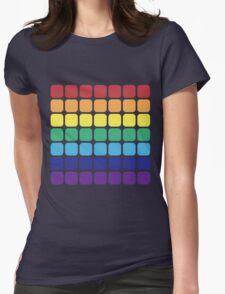 Rainbow Square - Dark Background T-Shirt