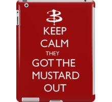 They got the mustard out iPad Case/Skin
