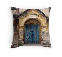 Pure Rubber Company - Cochin, Kerela, India1999 Throw Pillow