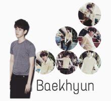 Baekhyun then- now Baby Tee