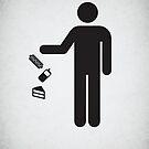 I threw it on the ground by Viktor Hertz