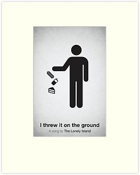 I threw it on the ground by Viktor Hertz