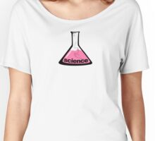 Science Beaker Pink Women's Relaxed Fit T-Shirt