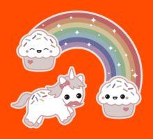 Cute Cupcake Unicorn Kids Clothes