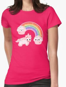 Cute Cupcake Unicorn Womens Fitted T-Shirt