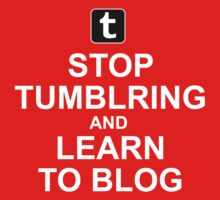 Tumblr is not blogging Kids Clothes